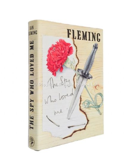 The Spy Who Loved Me by Ian Fleming First Edition First Impression Jonathan Cape 1962 HB James Bond